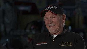 Big Daddy Don Garlits won't shave till he hit the 6's