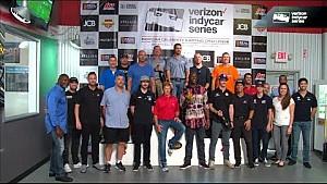 IndyCar celebrity Go-Kart challenge