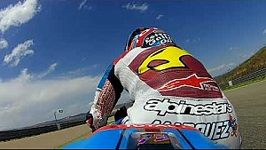 A fast lap of Aragon with Álex Márquez