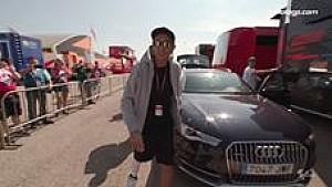 Rossi tiba di Aragon dengan kaki cedera