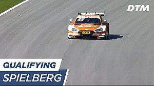 Top 3 & Results qualifying 1 - DTM Spielberg 2017