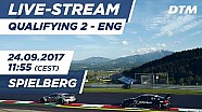 Live: Qualifying (Race 2) - DTM Spielberg 2017