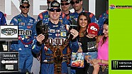 Kyle Busch's son approves of New Hampshire trophy