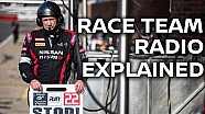 Racing team radios - Explained!