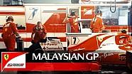 Dans les coulisses de Ferrari à Sepang