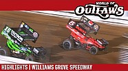 World of Outlaws Craftsman sprint cars Williams Grove speedway September 30, 2017 | Highlights