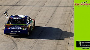 Busch critiques Elliott's performance in closing laps at Dover