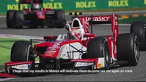 Emotional FIA F2 home win for Antonio Fuoco at Monza