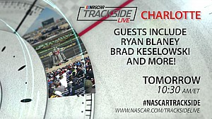 Tune in to trackside live Sunday at 10:30am