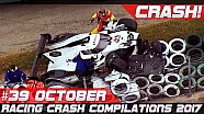 Racingfail! Racing crash compilation week 39 October 2017