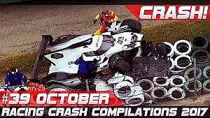 Racingfail! Racing crash compilation week 39 October 2017