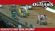 World of Outlaws Craftsman sprint cars Port Royal speedway October 14, 2017 | Highlights