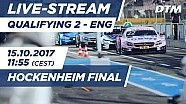 Live: Qualifying (Race 2) - DTM Hockenheim Final 2017
