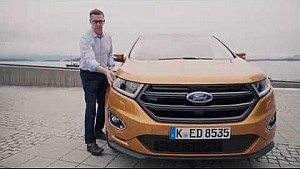 Ford design director, Chris Bird, takes us around the Ford Edge