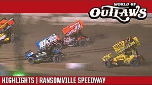 World of Outlaws Craftsman sprint cars Ransomville speedway October 16, 2017 | Highlights