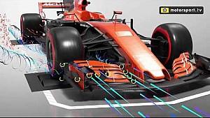 Как работает аэродинамика в Формуле 1. Переднее антикрыло