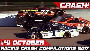 Racingfail! Racing crash compilation week 41 October 2017