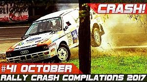 Racingfail! Rally crash compilation week 41 October 2017 RallyLegend Best of