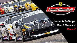 Live: Ferrari Challenge Norteamérica - Carrera 2