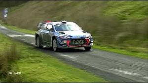 Rallye Wales: Highlights, 3. Etappe (Teil 1)