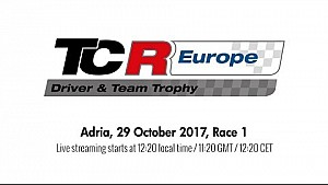 2017 Adria, TCR Europe Trophy race 1