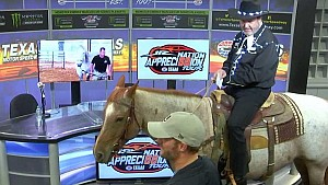 No horsing around from Texas with Dale Jr. gift