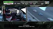 Kyle Larson choca en el Texas Motor Speedway