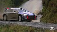 Lo mejor del rally de Gales en Slow-motion - Hyundai Motorsport 2017