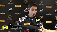 Lamborghini Super Trofeo Round 6 Europe Race 2 - Interview with Jonathan Cecotto