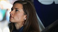 Danica Patrick breaks down while discussing future