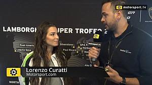 Lamborghini Super Trofeo - Saturday interview with Sheena Monk