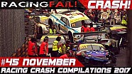 Racing crash compilation week 45 November 2017 Macau Grand Prix special | Racingfail