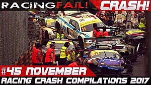 Racing crash compilation week 45 November 2017 Macau Grand Prix special | Racingfail