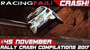 Rally accidentes compilación semana 45 noviembre de 2017 | Racingfail!