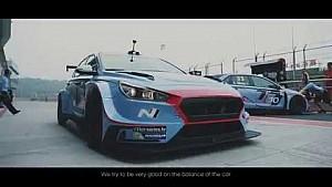 i30 N TCR Debut weekend movie - Hyundai Motorsport 2017