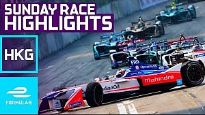 Streets Of Rage! 2017 HKT Hong Kong E-Prix Sunday Race Highlights - Formula E
