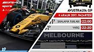 F1 2017 GP1 Türkiye Şampiyonası #1 Avustralya GP - CANLI YAYIN