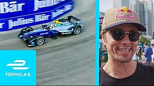 Jon Olsson drives a Formula E car in Hong Kong!
