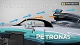 تأثير تصميم الطوق في تدفق الهواء على سيارات 2018