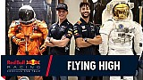 Verstappen en Ricciardo bezoeken NASA