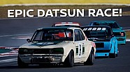 4 wide in classic cars! NIsmo heritage full race