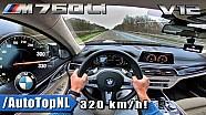BMW 7 Серії M760Li на 320км/год