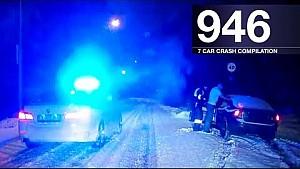 Car crash compilation 946 - December 2017