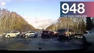 Car crash compilation 948 - January 2018