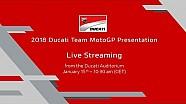 Suivez en direct la présentation Ducati MotoGP 2018