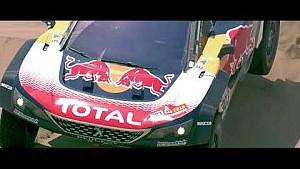 ¡Lo mejor de la acción Peugeot #3008DKRMaxi!