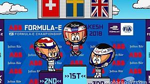 La carrera del ePrix de Marrakech 2018 por 'MinEDrivers'