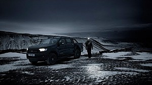 Ford Ranger black edition: 100 days of dark