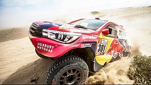 The road to Dakar with Nasser Al-Attiyah. | Part 1