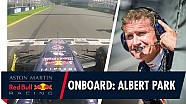 Rondje Albert Park met David Coulthard